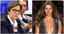 """Ministra inclui Gisele Bündchen entre """"maus brasileiros"""", que prejudicam a imagem do país (Veja o Vídeo)"""