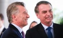 União entre Bolsonaro e Macri foi fundamental para a queda de Maduro