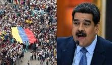Maduro esperneia, tenta reagir, mata 18 pessoas e prende 109 em 24 horas