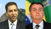 Glenn Greenwald, o marido do suplente de Jean Wyllys, inicia ataques contra Bolsonaro e se dá mal (Veja o Vídeo)