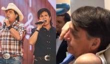 Bolsonaro se emociona no hospital com música de Chitãozinho & Xororó (veja o vídeo)