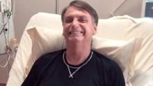 """No hospital Bolsonaro recebe a notícia de que foi eleito """"Personalidade do Ano de 2019"""""""