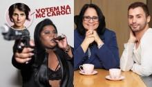 Mc Carol xinga maquiador gay de direita por defender mulheres e leva resposta à altura