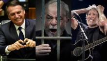 Roger Waters mente sobre o Brasil, diz que Lula não é corrupto e chama Bolsonaro de fascista