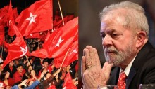 Militantes petistas confabulam possível sequestro de Lula no velório do neto