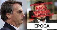 Bolsonaro desmascara terrível FAKE NEWS de jornalista da revista Época