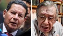 """General Mourão X Olavo de Carvalho: Bolsonaro tem que descascar esse """"abacaxi"""" (Veja o Vídeo)"""