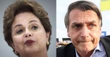 """Dilma """"veste a carapuça"""" e diz que irá processar Bolsonaro"""