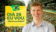 Com pedido até da mãe, Marcel van Hattem garante presença na manifestação do dia 26