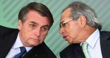 Bolsonaro desdenha de mais uma tentativa da Mídia de indispô-lo com Guedes