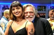Nova namorada de José de Abreu recebe conselhos de Gentili