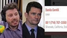 """O alerta de Gentili para """"estranha ligação"""" que hackeou seu celular e de Moro"""