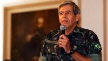"""General Heleno: """"Querem macular a imagem de Moro, cujas integridade e devoção à Pátria estão acima de qualquer suspeita. Vão ser desmascarados, mais uma vez"""""""