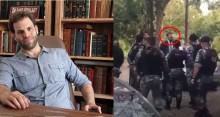 "Advogado de baderneiros 'grevistas' peita policiais, ofende, chama de ""cachorros"" e acaba preso (Veja o Vídeo)"