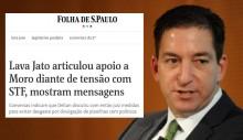 Parceria da Folha com The Intercept para mensagens vazadas pode ser criminosa, diz site