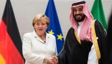 Enquanto critica Bolsonaro, Angela Merkel tem encontro amistoso com ditador árabe