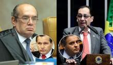 """Kajuru relata """"podres"""" de Gilmar e protocola requerimento para que o ministro compareça ao Senado (Veja o Vídeo)"""