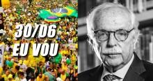 Manifestação do dia 30 será o clamor por um país livre da cleptocracia, declara Modesto Carvalhosa