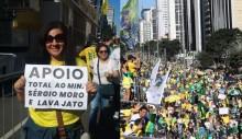 Manifestantes devolvem celular à mulher que perdeu o aparelho em meio a multidão na Paulista