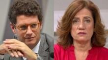 Ministro coloca Míriam Leitão na parede e faz desafio para debate