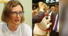 Por empurrão em deputado, Câmara pode abrir processo contra Maria do Rosário (veja o vídeo)