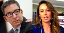 Glenn Greenwald é reconhecido nos EUA como militante, não como jornalista, afirma Ana Paula do Vôlei (Veja o Vídeo)
