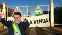 """Bolsonaro entretém a esquerda com """"caneladas"""", enquanto realiza um ótimo negócio com a Petrobras"""