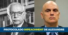 Modesto Carvalhosa protocola mais um pedido de impeachment: Alexandre de Moraes