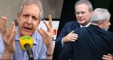 Com apenas uma frase, Augusto Nunes destrói Renan Calheiros
