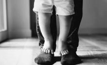 Os pés dos pais