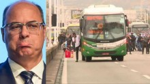 A nova polícia de Witzel: Sequestrador de ônibus é baleado por atirador de elite na Ponte Rio-Niterói