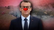 Boca fechada não entra mosca, Macron!