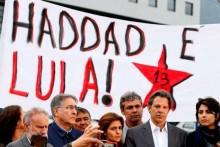 Redes sociais e atitude e a condenação de Fernando Haddad