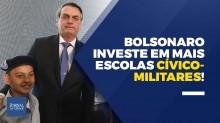 JCO TV - Bolsonaro investe na boa educação e lança 216 escolas Cívico-Militares (veja o vídeo)