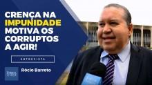 """TV JCO - """"Crença na impunidade motiva corruptos a continuar agindo"""", ressalta especialista, em entrevista exclusiva (Veja o vídeo)"""