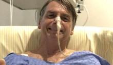 """Cai o """"risco-país"""" e Bolsonaro comemora no hospital"""