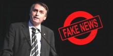 """Bolsonaro recebe alta e já é obrigado a desmentir nova """"Fake News"""", desta vez da Veja"""