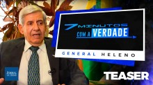 EXCLUSIVO: General Heleno abre o jogo e conta toda a verdade à TV Jornal da Cidade Online (Veja o Vídeo)