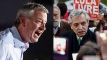 Após atingir o prefeito de Nova York, efeito Bolsonaro mira candidato de Kirchner na Argentina
