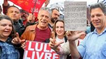 """""""Lula Livre"""": Mais uma narrativa petista que cai igual a um castelo de cartas"""