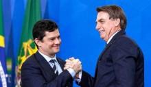 """Moro e a lealdade: """"Meu candidato em 2022 é Bolsonaro"""""""