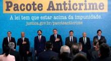 Moro e Bolsonaro pressionam pela segurança com a campanha publicitária do pacote Anticrime (Veja o Vídeo)