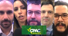 Eduardo Bolsonaro, Ministro Ernesto Araújo, Ana Paula Henkel e muito mais... Confira as entrevistas exclusivas do CPAC Brasil