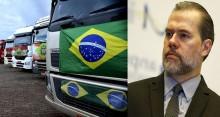 Indignados, caminhoneiros mandam recado para Dias Toffoli (Veja o Vídeo)