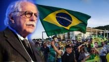 """Carvalhosa recobra esperanças: """"Não seremos dominados pelos bandidos"""" (Veja o Vídeo)"""