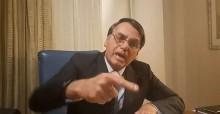 """Bolsonaro diz que Rede Globo é """"porca, nojenta, canalha e imoral"""" (veja o vídeo)"""