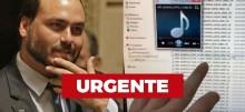 URGENTE: Carlos Bolsonaro prova que não houve ligação da portaria para a casa de Jair Bolsonaro (veja o vídeo)