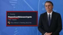 """Esquerda quer o impeachment de Bolsonaro, mas não sabe nem escrever """"impeachment"""""""