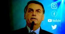 Mesmo sob ataque da grande imprensa, Bolsonaro se mantem forte nas Redes Sociais