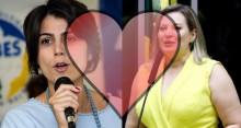 Manuela D'ávila e Joice Hasselmann trocam afagos na rede social